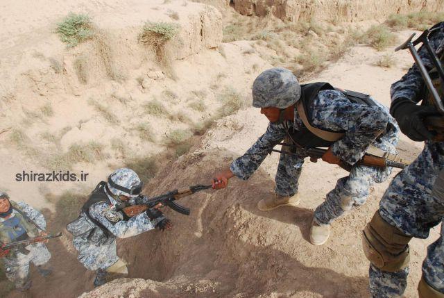تو سربازی از این کارا نکنی ها خطر داره !!؟(عکس)